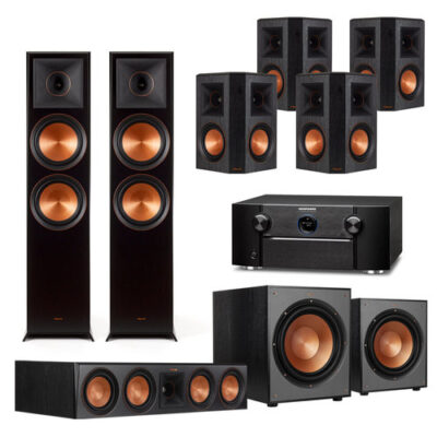 SVS Prime 5 1 Home Theater System with Sony STR-DN1080 7 2-Channel AV  Receiver