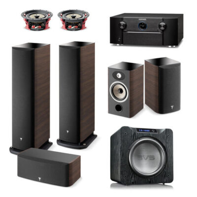 Klipsch 7 2 2 Reference Premiere Home Theater System with Marantz SR7013  9 2-Channel AV Receiver